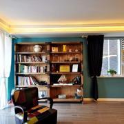 三室一厅简约客厅阳台设计