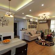 美式别墅简约风格客厅装饰