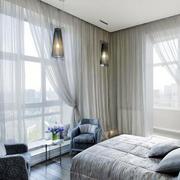 北欧风格简约别墅卧室装饰