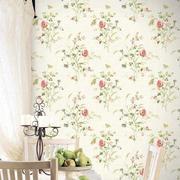 卧室欧式田园风格壁纸设计
