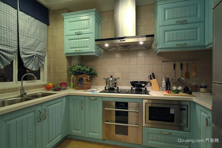 90平米厨房装修效果展示