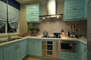 欧式田园清新风格厨房设计