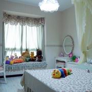欧式公主系儿童房效果图
