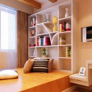 后现代风格书房榻榻米装饰