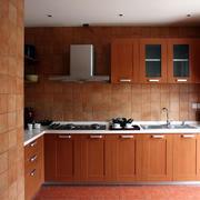 美式样板房厨房装饰