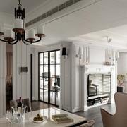 三室一厅餐厅灯饰设计