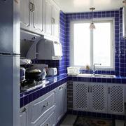 地中海风格婚房厨房装饰
