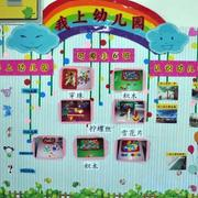 幼儿园教室角墙饰装饰