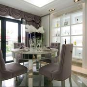 欧式餐厅软质桌椅设计