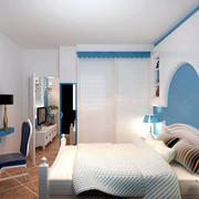地中海风格简约卧室设计
