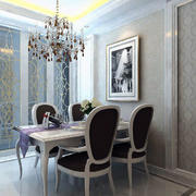 欧式餐厅石膏板吊顶设计