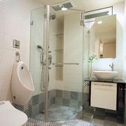 后现代风格卫生间独立淋浴装饰