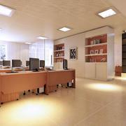 现代简约风格写字楼地板装饰