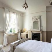 三室一厅美式风格卧室装饰