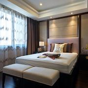 美式别墅简约风格卧室装饰