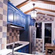 地中海简约厨房设计