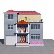 简朴型农村二层房屋