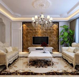 让家更有层次感的客厅隔断装修效果图