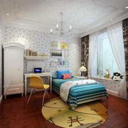 美式儿童房地板装饰