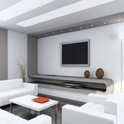 简约风格客厅电视柜设计
