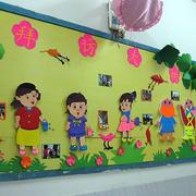 卡通风格幼儿园墙饰