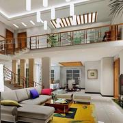 新中式简约风格客厅背景墙