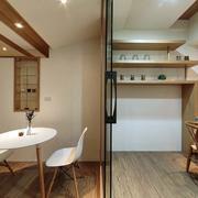 婚房餐厅沙发隔断设计