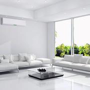 简约风格客厅白色沙发装饰