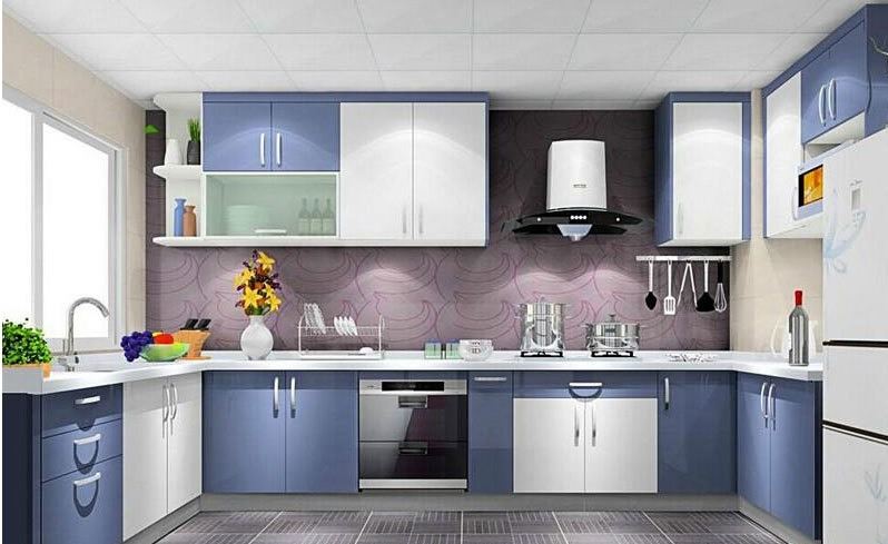 做菜的灵感:厨房橱柜设计效果图