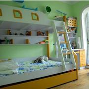美式简约风格儿童房装饰