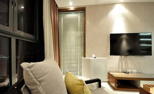80后筑梦男青年小户型家居客厅卧室装修设计实例效果图