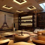 东南亚风格酒柜装饰