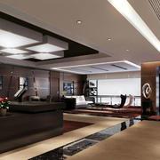 后现代风格办公室地板装饰