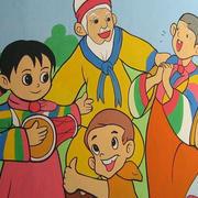 幼儿园动漫墙饰装饰
