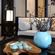 美式风格别墅客厅沙发装饰