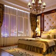 欧式气派卧室窗帘