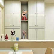 两室一厅简约风格客厅吧台装饰