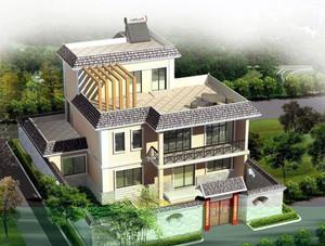 精致、引人入胜的现代农村二层房屋设计图鉴赏图片