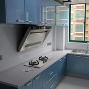 韩式清新小型厨房装饰