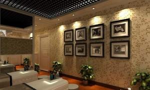 美容院背景墙设计