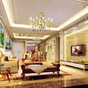 小户型欧式客厅背景墙设计