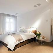 美式别墅卧室飘窗设计