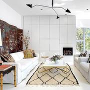 美式简约风格样板房装饰