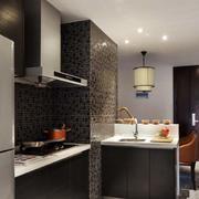 三室一厅后现代风格厨房装饰