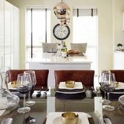 两层房屋简约风格餐厅装饰