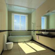 后现代风格卫生间装饰