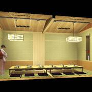 料理店简约包厢设计