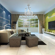 公寓客厅茶几装饰