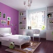现代简约风格儿童房整体柜子设计
