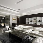 后现代风格公寓客厅茶几设计